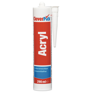 CleverPick Acryl Fugendichtmasse - 290 ml