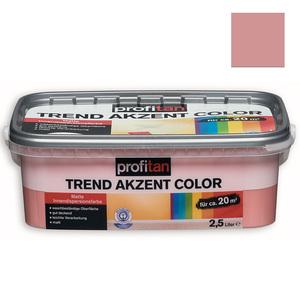 profitan Wandfarbe Trend Akzent Color - cupcake matt - 2,5 Liter