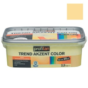 profitan Wandfarbe Trend Akzent Color - wüste matt - 2,5 Liter