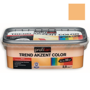 profitan Wandfarbe Trend Akzent Color - sonnenuntergang matt - 2,5 Liter