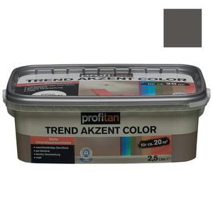 profitan Wandfarbe Trend Akzent Color - lakritz matt - 2,5 Liter