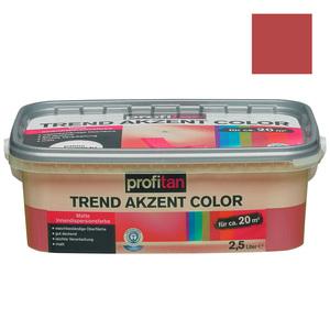profitan Wandfarbe Trend Akzent Color - vulkan matt - 2,5 Liter