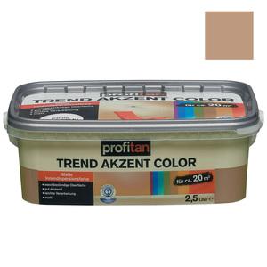 profitan Wandfarbe Trend Akzent Color - liane matt - 2,5 Liter