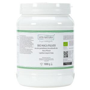 Vita Natura Maca Pulver 4:1 Extrakt Bio 1 kg