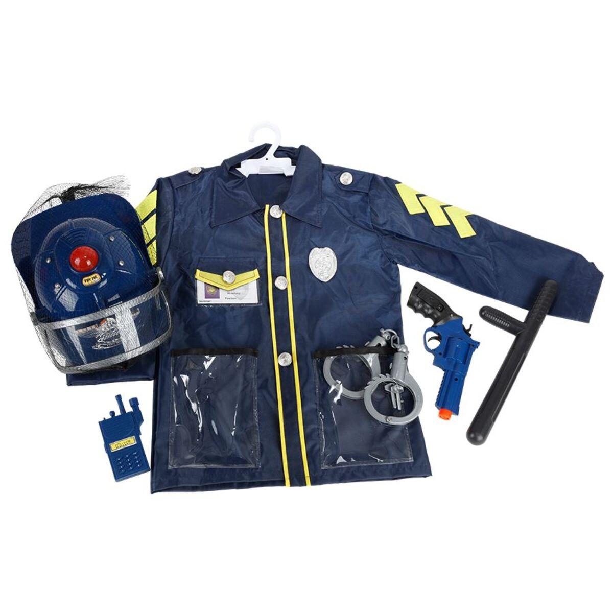 Bild 3 von Kinderkostüm Polizei mit Sound-Helm und Zubehör