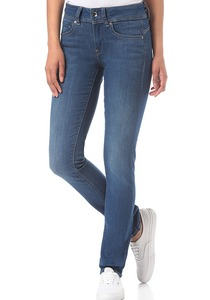 G-STAR RAW Midge Saddle Mid Straight/Ment Superstretch - Jeans für Damen - Blau