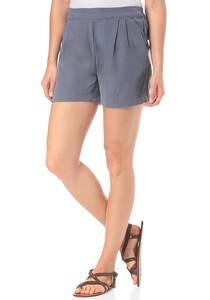 Vila Viesther - Shorts für Damen - Grau