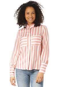 Vila Vistribello - Bluse für Damen - Pink