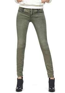 G-STAR RAW D-Staq 5-Pkt Mid Skinny Coj - Hose für Damen - Grün
