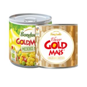 Bonduelle Goldmais oder Goldmais Mix