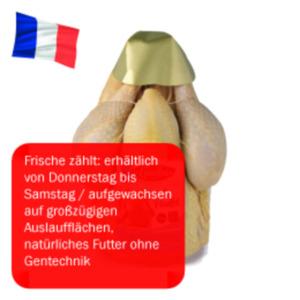Frisches französischesMaishähnchen