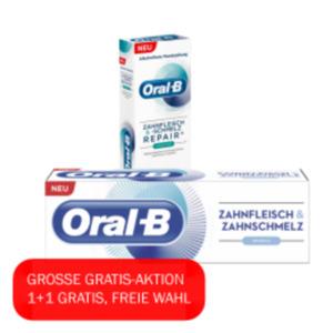 ORAL-B Zahnfleisch und-schmelz Mundspülung oder Zahncreme