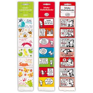 Sheepworld Schoko-Wochenkalender