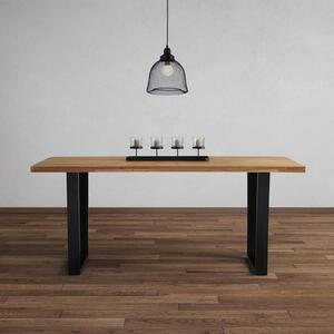 Esstisch aus Eiche Echtholz ca. 180x90 cm 'Kayla'