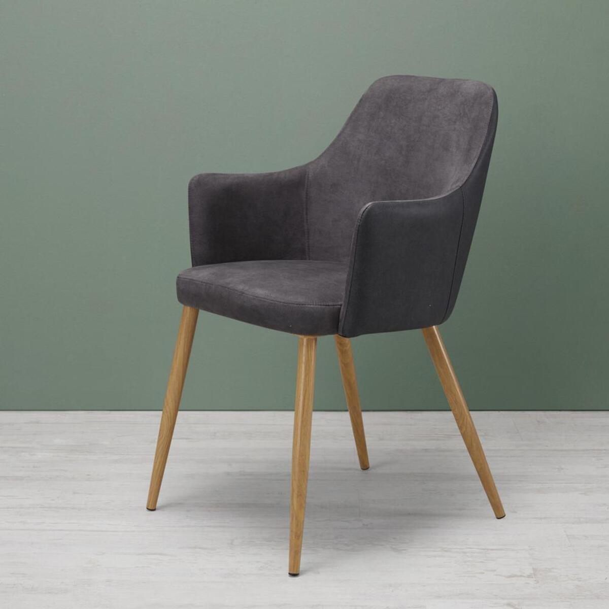 Bild 1 von Armlehnstuhl in Dunkelgrau 'Chrisi'
