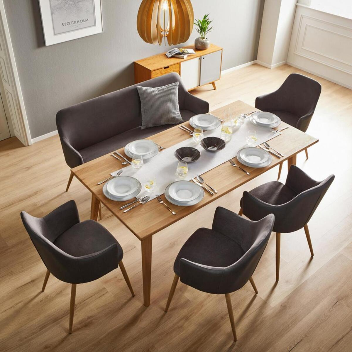 Bild 3 von Armlehnstuhl in Dunkelgrau 'Chrisi'