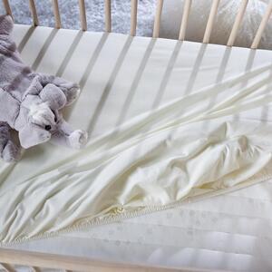 Kinderbettlaken Jersey in Naturfarben ca.70x140cm