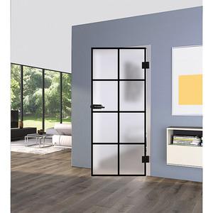 Diamond Doors Glasdrehtür Loft Black Edition