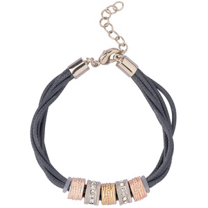 Damen Armband in Leder-Optik