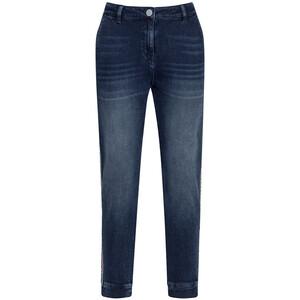 Damen Slim-Jeans mit Galonstreifen
