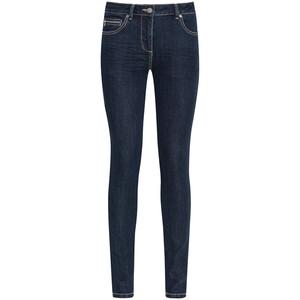 Damen Slim-Jeans in dunkler Waschung