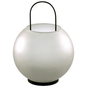 Glas-Laterne in Kugel-Form