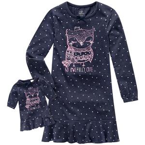 Mädchen Nachthemd und Puppen-Nachthemd im Set