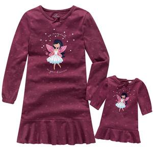 Mädchen Nachthemd mit Puppen Nachthemd im Set