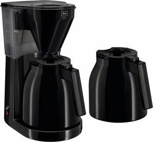 Melitta Easy Therm mit zweiter Kanne Kaffeeautomat schwarz