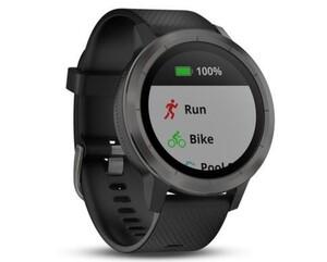Garmin Smart Watch vivoactive 3 schwarz/grau ,  schwarz/grau