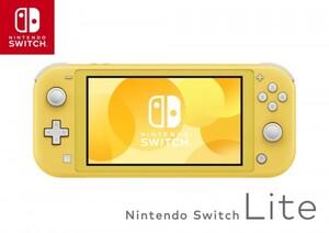 Nintendo Switch Konsole, lite gelb ,  Handheld