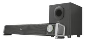 Trust Asto 2.1 Soundbar inkl. Subwoofer für PC & Notebook , Verbindung via 3,5mm Klinke, Smart Standby