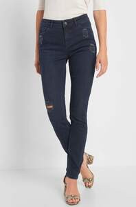 Slim Jeans im Destroyed-Look