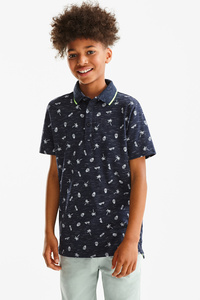 Here and There         Poloshirt