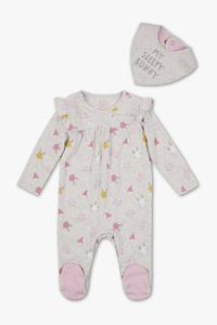 Baby Club         Baby-Schlafanzug - Bio-Baumwolle - 2 teilig