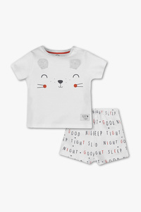 Baby Club         Baby-Pyjama - Bio-Baumwolle - 2 teilig