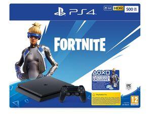 SONY Playstation 4 - 500GB Jet Black: Fortnite Neo Versa Bundle