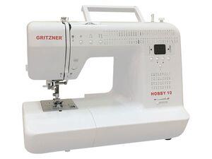 Gritzner Hobby 10 - Computernähmaschine mit 99 Stichprogrammen inkl. Anschiebetisch