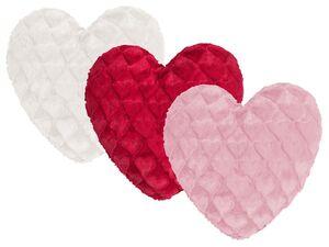 MAGMA Dekokissen Fluffy Hearts, 40 x 35 cm