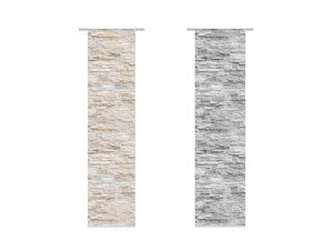 Home Wohnideen Schiebevorhang Walli 245 x 60 cm, blickdicht