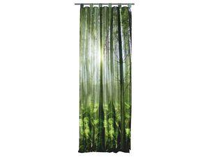 Home Wohnideen Schlaufenvorhang Grüner Wald 245 x 120 cm, blickdicht