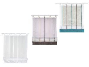 Home Wohnideen Raffrollo Gabi, transparent