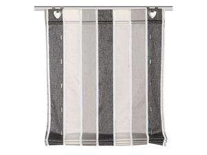 Home Wohnideen Raffrollo Losana anthrazit inklusive Fensterhaken, halbtransparent