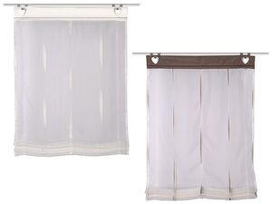 Home Wohnideen Raffrollo Ella Voile Scherli inklusive Fensterhaken, transparent