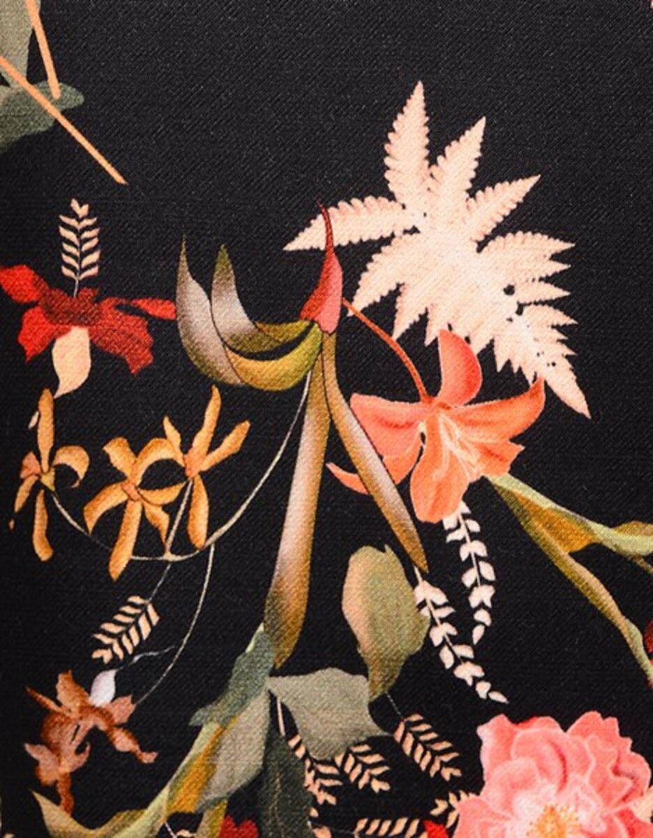 Bild 4 von Viventy - Kleid aus Viskose-Seiden-Mischung mit floralem Druck