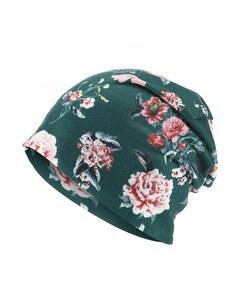 My Own - Jersey-Beanie-Mütze mit floralem Druck