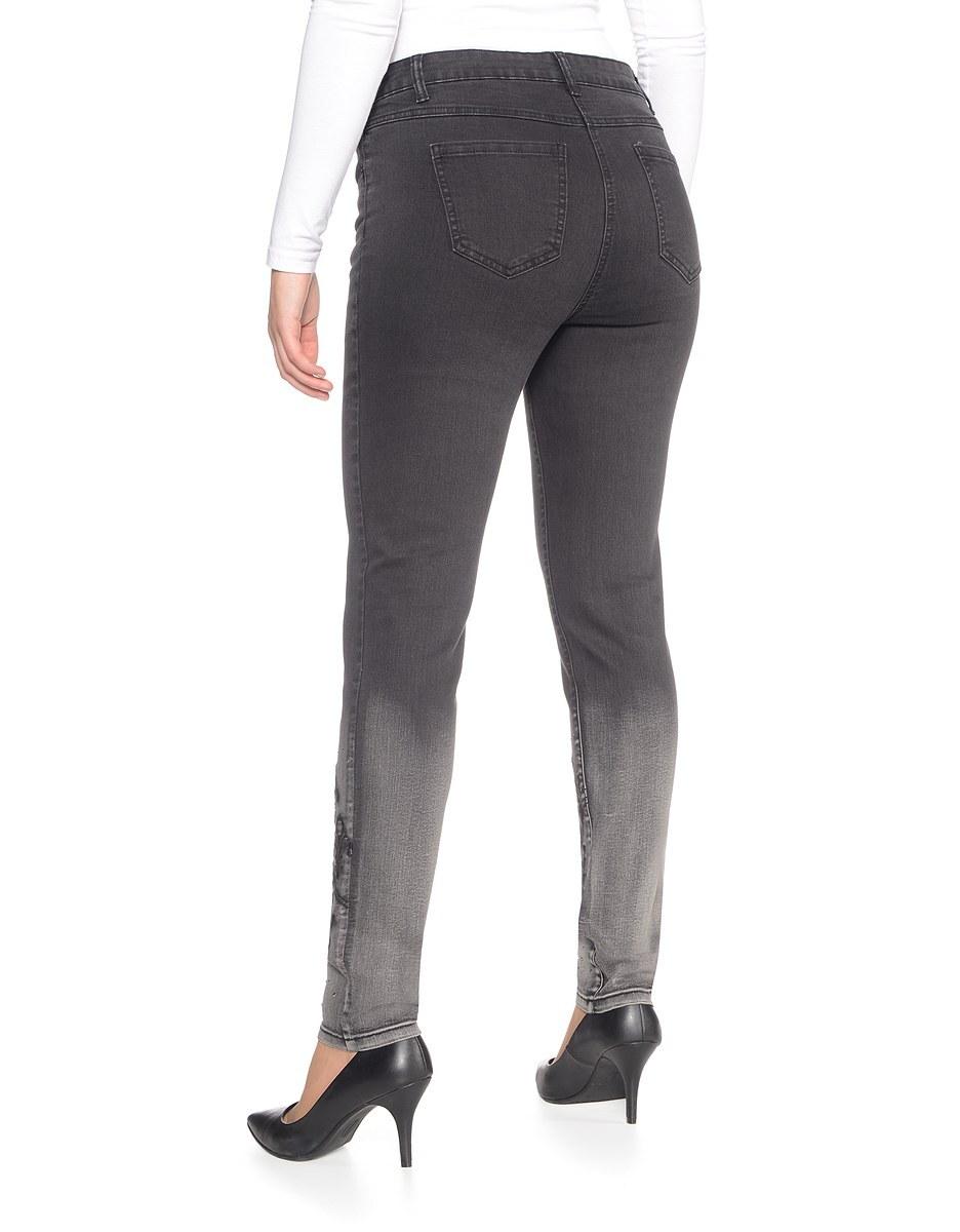 Bild 2 von Viventy - Jeans, Slim Fit mit Stickerei und Ziersteinen
