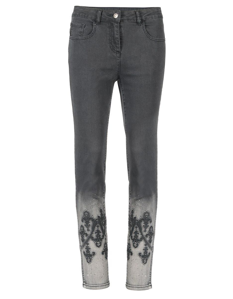 Bild 3 von Viventy - Jeans, Slim Fit mit Stickerei und Ziersteinen
