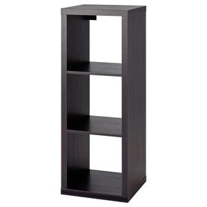 KALLAX                                Regal, schwarzbraun, 42x112 cm