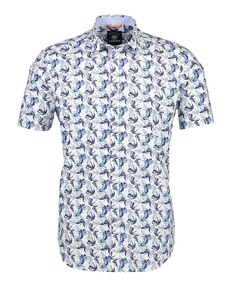 Lerros - Kurzarmhemd mit trendigem Floralprint